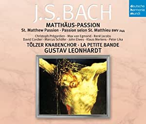 Bach:St.Matthew Passion [Import allemand]