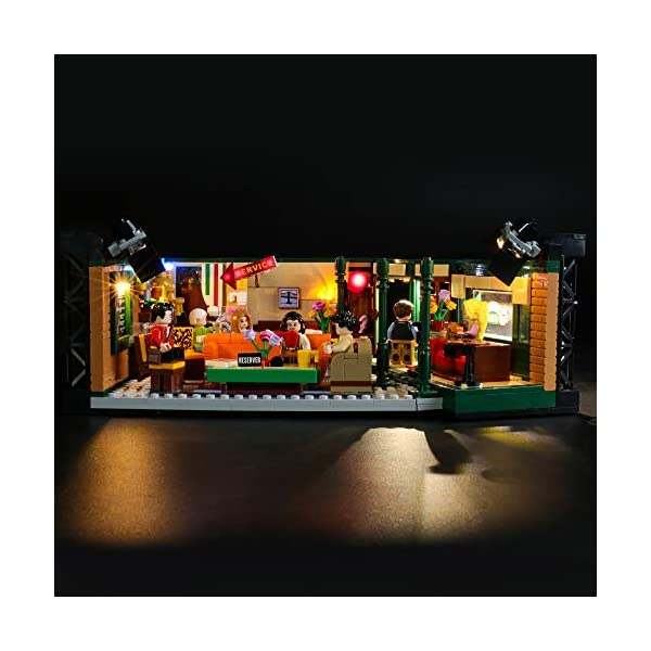 BRIKSMAX Kit di Illuminazione a LED per Lego Idee Central Perk,Compatibile con Il Modello Lego 21319 Mattoncini da… 2 spesavip
