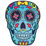 "Playa manta toalla Bikini Cover Up, 1pc omiky® Colgante de pared Hippie tapiz Picnic manta Yoga Mat Mantel Cama cubierta, poliéster, Colorful Skull, 150*120cm/59*47"""