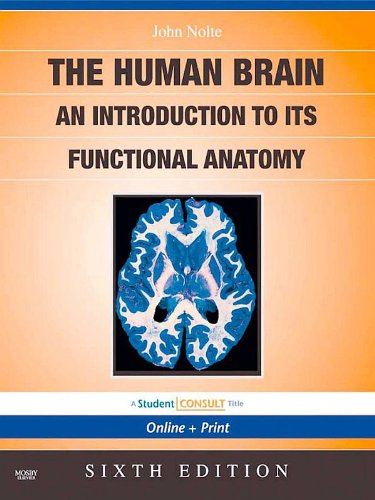 The Human Brain E Book With STUDENT CONSULT Online Access By John Nolte