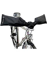 NC-17 Connect Schutzhülle für E-Bike Lenker / Handlebar Cover 2.0 / Lenkerschutz, Lenkerhaube, Transportschutzhaube für Fahrrad-, E-Bike Lenker / wasserdicht / One Size / Nylon / schwarz