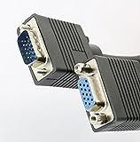 Rhinocables® Kabel VGA-Monitor-Verlängerungskabel, 15-Pin Stecker auf Buchse SVGA-Extender, verschiedene Längen erhältlich 10m