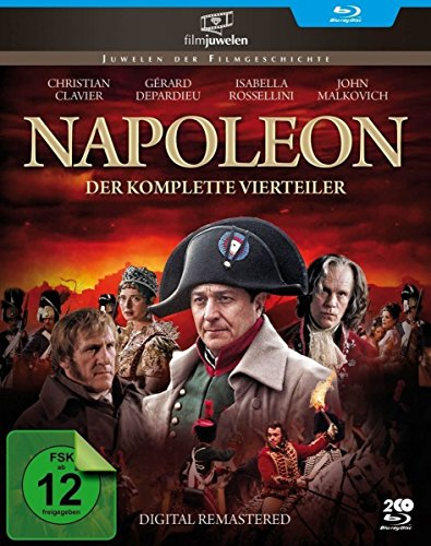 Napoleon – Der komplette Vierteiler – Digital HD-Remastered (Fernsehjuwelen) [Blu-ray]