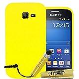 Accessory Master–Custodia in silicone con penna stilo per Samsung Galaxy Trend Lite S7390giallo