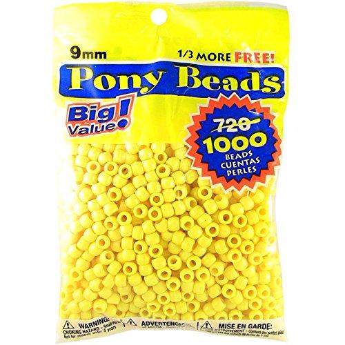 pony-perlina-grande-valore-pack-9mm-1000-pkg-opaco-limone
