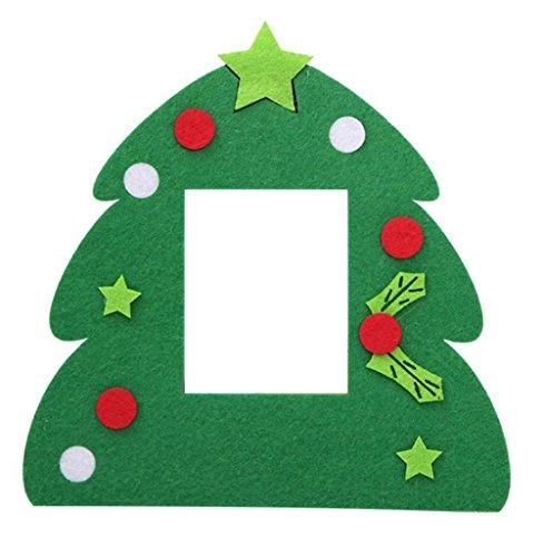 Leisial™ Marco Navidad Paño Estilo Lindo Marco