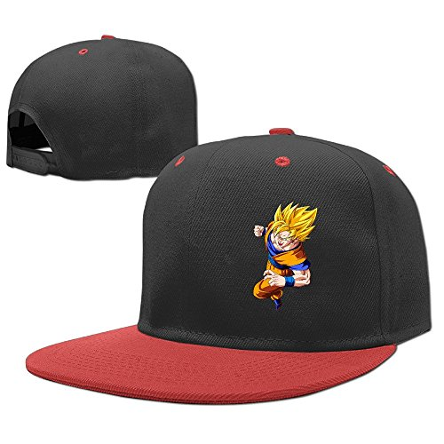 hittings-cool-goku-dragon-ball-z-child-hiphop-cappellino-da-baseball-boys-girls-hat-snapback-one-siz