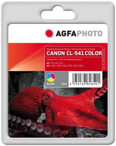 Preisvergleich Produktbild AgfaPhoto APCCL541CXL Tinte für Canon MG2150, 552 Seiten, farbig