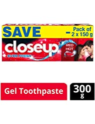 Closeup Ever Fresh Red Hot Gel Toothpaste - 150 g (Pack of 2, Saver Pack)