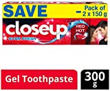 #2: Closeup Ever Fresh Red Hot Gel Toothpaste - 150 g (Pack of 2, Saver Pack)