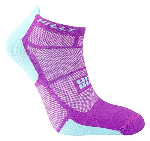 hilly-womens-twin-skin-socklet-running-socks-purple-aquamarine-small