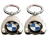 Original BMW Schlüsselanhänger Einkaufs Chip Einkaufswagen Einkaufschip 80272446749 1er 2er 3er 4er 5er 6er 7er X1 X2 X3 X4 X5 X6 (2)