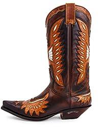 Sendra Boots 6990 Cuervo Britnes FL. Marron-Laca Camel