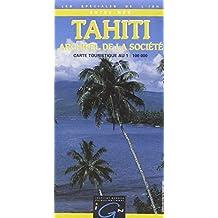 Carte routière : Tahiti - Archipel de la Société