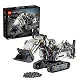 LEGO 42100 Technic Liebherr R 9800 Excavator App-gesteuertes Konstruktionsspielzeug, Mehrfarbig