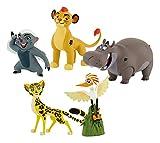 Bullyland 13221 - Geschenkbox Walt Disney Garde Löwen mit 5 Figuren