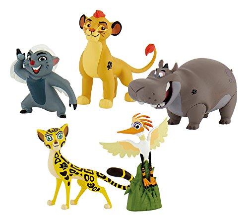 Bullyland 13221 - Geschenkbox Walt Disney Garde Löwen mit 5 Figuren (Schöne Vögel-dvd-set)