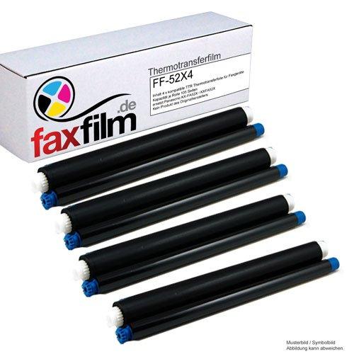 Faxfilm - Juego de 4 cintas para fax