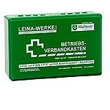 Betriebsverbandkasten klein - schlagfest und bruchsicher - DIN 13157 - grün - ohne Wandhalterung