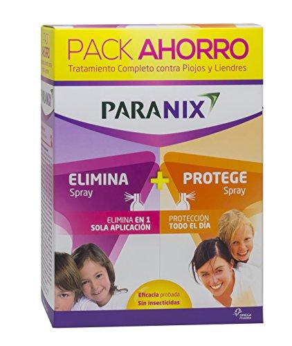 Paranix Pack Spray + Protect. Tratamiento para Piojos y Liendres - Incluye Lendrera - Sin insecticidas - contiene Spray de Tratamiento y Spray Preventivo