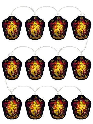 Groovy UK-s Harry Potter Gryffindor Lichterkette (Lichterketten Planeten)
