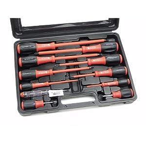 51D3aDSx%2B0L. SS300  - Mannesmann - M11215-11 piezas Juego de destornilladores en maletín de plástico