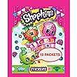 Topps Shopkins Stickers ~ 10 Packs (50 Stickers) & 1 Bonus Pack (55 Stickers)