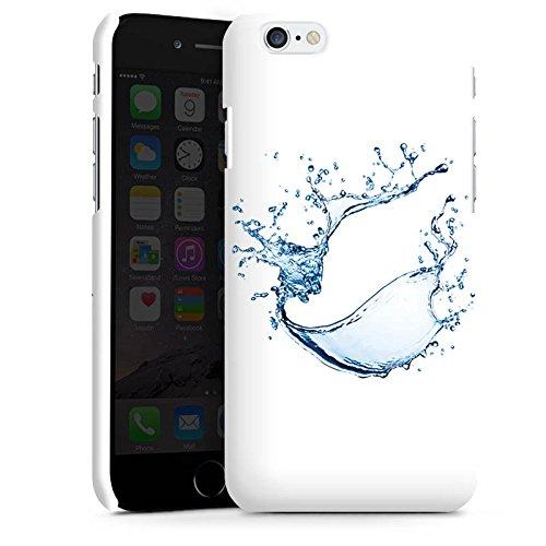Apple iPhone X Silikon Hülle Case Schutzhülle Wasser Klecks Tropfen Premium Case matt