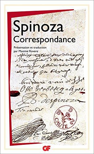 Correspondance (GF t. 1438) par Baruch Spinoza