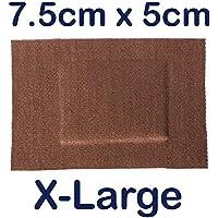 500x Steroplast STEROFLEX echtes Flexibles Stretch Stoff Erste Hilfe Wundpflaster X-Large 7,5cm x 5cm preisvergleich bei billige-tabletten.eu
