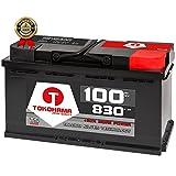 TOKOHAMA Autobatterie 100Ah 830A Starterbatterie +30% mehr Power ersetzt 92ah 88Ah