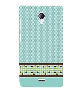 Cellular Pattern 3D Hard Polycarbonate Designer Back Case Cover for Micromax Canvas Unite 2 A106