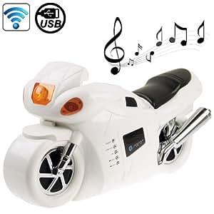 B2 Motorcycle / E-Bike Shape Bluetooth Stereo Speaker Support USB Flash Driver / AUX-input / Mode Indicator bluetooth speaker