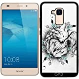 Coque Silicone pour Huawei Honor 5C - Petit Renard by LouJah