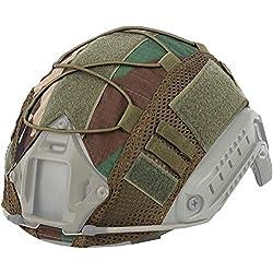 Kit de Protection pour Casque Airsoft Hunting Multicam pour Casque Ops-Core PJ/BJ/MH