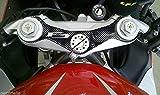ADESIVO GEL 3D PROTEZIONE PIASTRA FORCELLA compatibile per MOTO MV AGUSTA F3