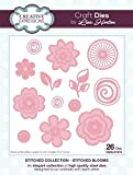 Creative Expressions Stitched Blooms Stitched Collection Craft Die Set
