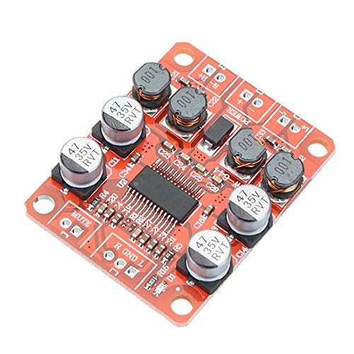MYAMIA Tpa3110 Dc 12V 24V 2x15W Dual-Channel-Stereo-Digital-Power-Verstärker-Board Für 4/6/8/10 Ohm-Lautsprecher (15 4-ohm-lautsprecher)