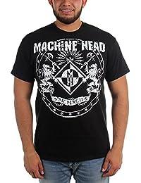 Machine Head - Mens Classic Crest T-Shirt
