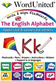 The English Alphabet: Write & Wipe Flashcards