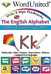 The English Alphabet - Write & Wipe Flashcards with Multilingual Support (British English)