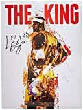 LeBron James Poster The King Cleveland Cavaliers 23 Farbe Print African American History (18 x 24)