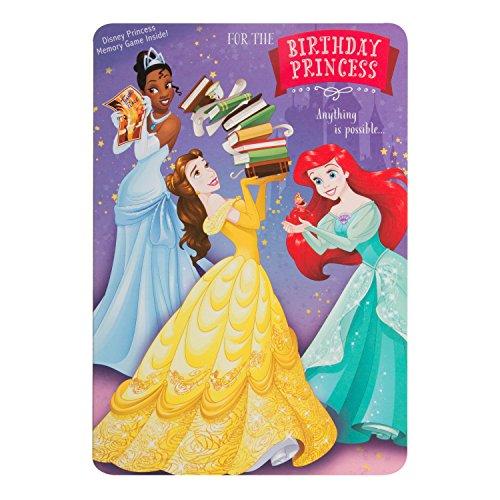 Hallmark Disney Princess Birthday Card Memory Game Medium Buy