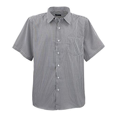 Lavecchia HKA19-01-Nadelstreifen (7XL) (Herren-nadelstreifen-hemd)