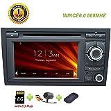 GPS Stereo Navigation für Auto Audi A4 Auto GPS Navigation System DVD-Player in Dash SAT NAV mit Bluetooth Hände frei
