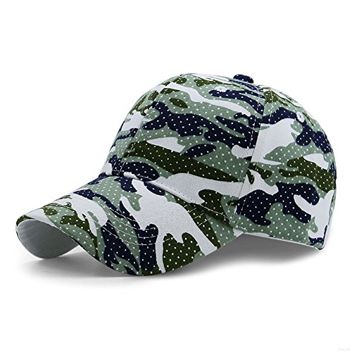GADIEMENSS Sports Hat Breathable Outdoor Run Cap Camo Baseball caps Shadow Structured hats (Light Green) (Camo Flag)