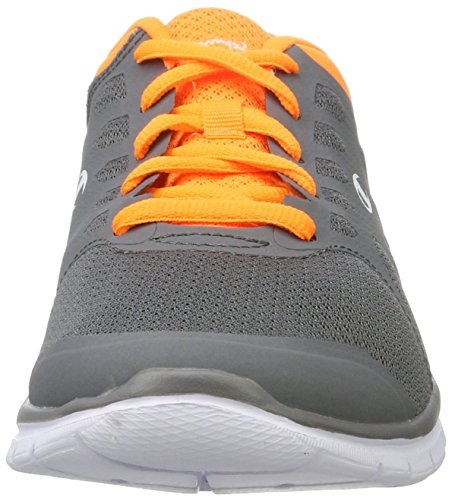 Champion Alpha, Chaussures de Running Compétition Homme Multicolore (Nbk/nbk - Grau Melange/new York Knicks Orange)