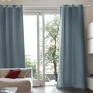 Gardinen Und Vorhänge Schlafzimmer Blau   Deine-Wohnideen.de
