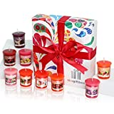 A Bright, Bold Scented Candle Gift Set Featuring Nine Uplifting Fragrances in a Premium Gift Box. Scented Candles Make Ultimate Gifts for Women, Great Gifts for Her or Perfect Women's Gifts (Sunmist)