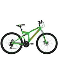 VTT tout suspendu 26'' Xtraxx vert-orange TC 46 cm KS Cycling